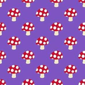 Little toadstools growing
