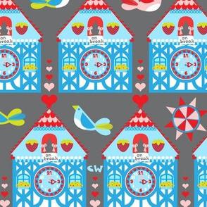 Cuckoo Clocks (Grey)