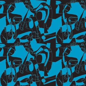 Picasso Blue