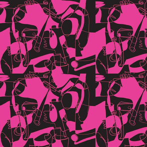 Picasso Hot Pink