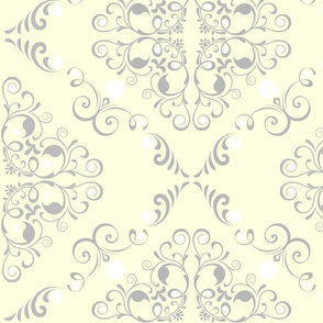 Butter Yellow Toile-ed