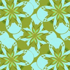 Sand Painting Flower 3