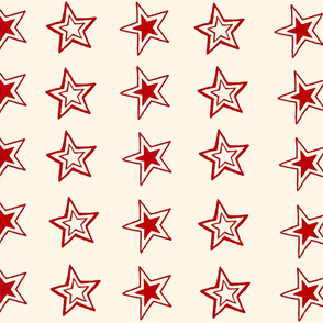 Reverse Red Hot Chile Stars