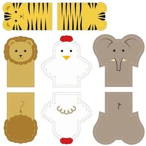 Animal finger puppets (1)
