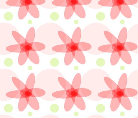 flower_enough fabric by splet on Spoonflower - custom fabric