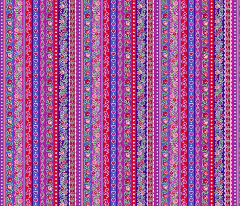 Matryoshka stripe fabric by minimiel on Spoonflower - custom fabric