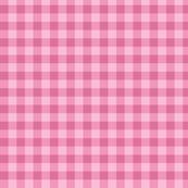Pink check pattern