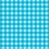 Blue check pattern
