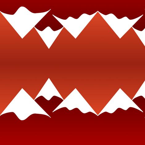 Dusk Mountains fabric by blackfox on Spoonflower - custom fabric