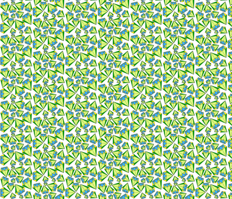 Geometric Trilliant fabric by elleenne on Spoonflower - custom fabric
