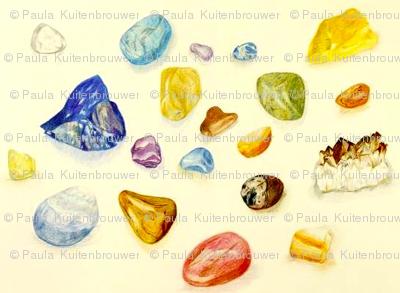 Gemstones are Worlds