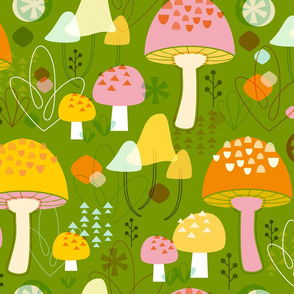 Fabulous Fungi: Grass