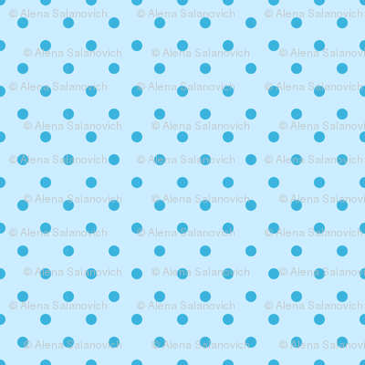 Blue polka dot pattern