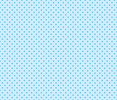 Blue polka dot pattern fabric by alenkas on Spoonflower - custom fabric
