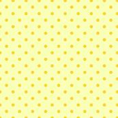 Yellow polka dot pattern