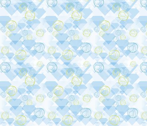 Geodes and Diamonds fabric by vinpauld on Spoonflower - custom fabric