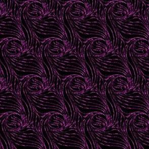 Whirly in metallic fuchsia