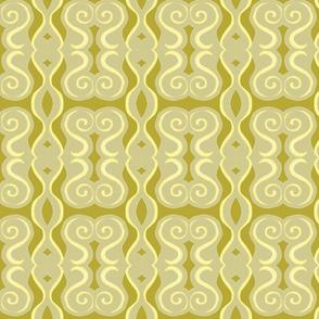 gold and swirly