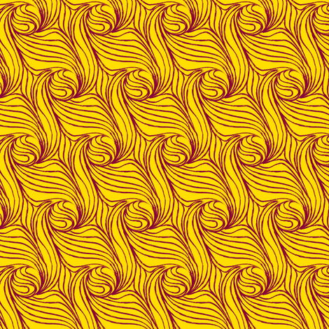 Solar whirly fabric by nlsd on Spoonflower - custom fabric