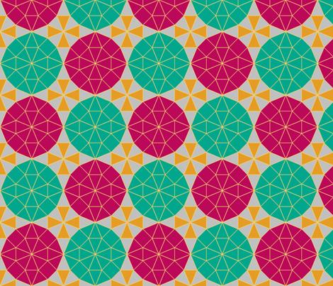 OgonORubyOEmerald fabric by grannynan on Spoonflower - custom fabric