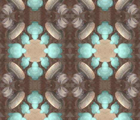 Soapstone Turtles_1 fabric by ruthjohanna on Spoonflower - custom fabric
