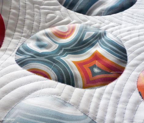 Agate Pebble - quilting project