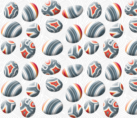 Agate Pebble - quilting project fabric by spellstone on Spoonflower - custom fabric
