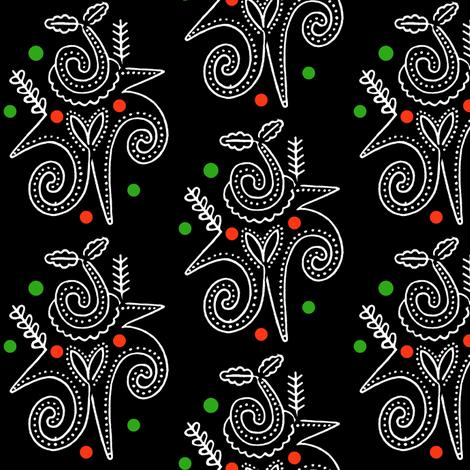 Podillyan Xmas Trees fabric by boris_thumbkin on Spoonflower - custom fabric