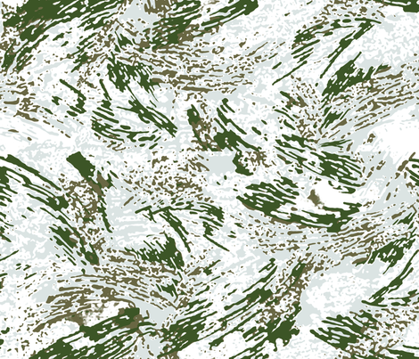 All Over Brush Alpine Snow Camo fabric by ricraynor on Spoonflower - custom fabric