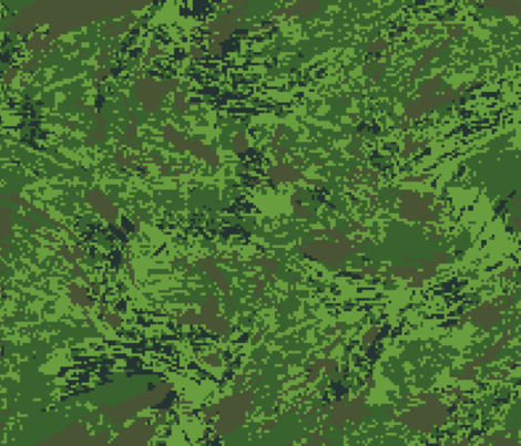 Woodland Tropical Jungle Digital Brush Camo fabric by ricraynor on Spoonflower - custom fabric