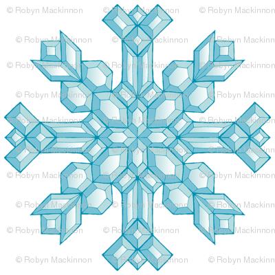 Diamond Snowflakes