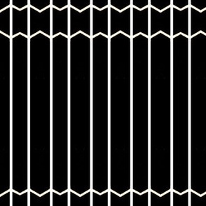 B&W Lines & Thin Chevrons
