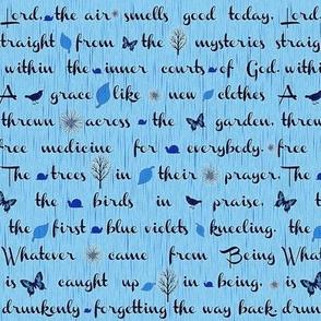 Blue Rumi