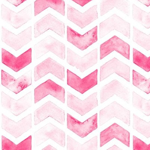 Herringbone Arrows in Pink