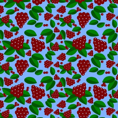 berries_in_summer_1 fabric by anino on Spoonflower - custom fabric
