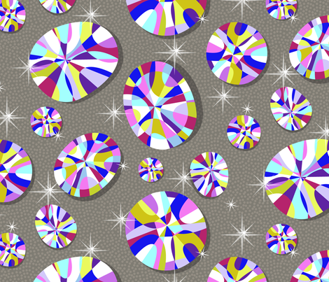 Bringing the Bling! fabric by celiaforrester on Spoonflower - custom fabric
