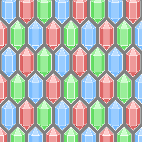 crystal prisms fabric by sef on Spoonflower - custom fabric