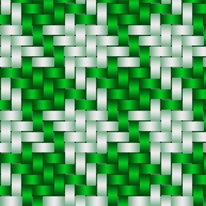 Big Honking Green Houndstooth