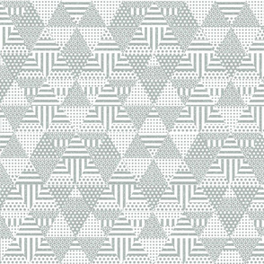 Shaped triangles (gray)