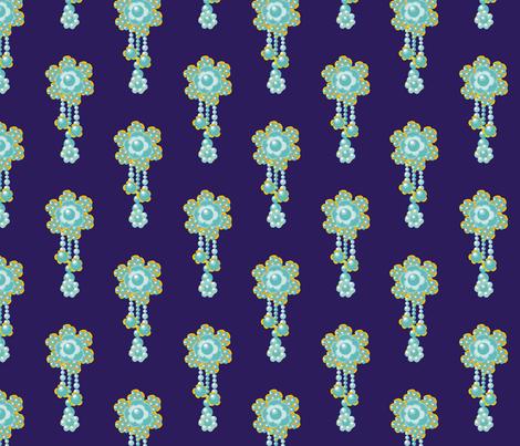 Met by moonlight! fabric by moirarae on Spoonflower - custom fabric