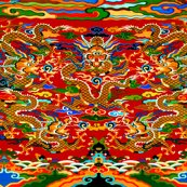 Rspoonflower_contrast_5_orange_dragons_red_bg_shop_thumb