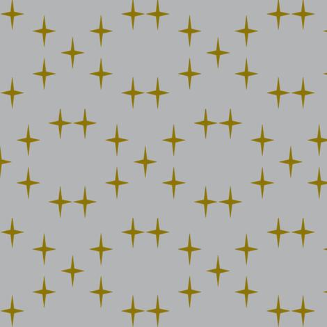 Star crossed in camo and grey fabric by daniellereneefalk on Spoonflower - custom fabric