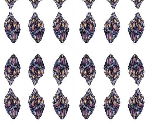Crystals fabric by anwilby on Spoonflower - custom fabric