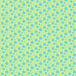 Blue Bubble Dots