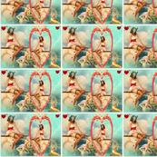 pin up and mermaids