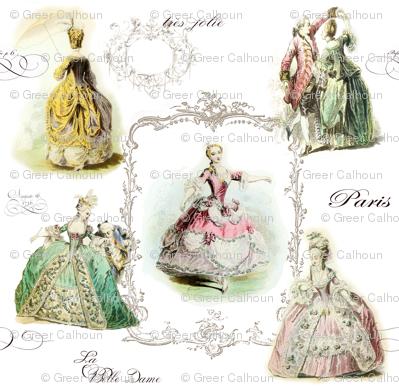 Marie Antoinette and Ladies