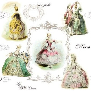 Marie Antoinette and Ladies