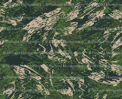 Sixth Scale All Over Brush Woodland Camo