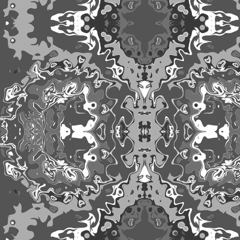 exquisite_grey fabric by kristinrose on Spoonflower - custom fabric
