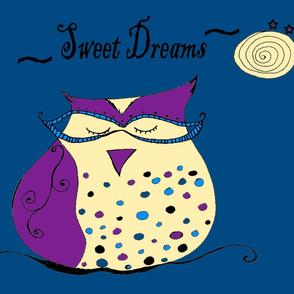 Sweet Dreams Owl